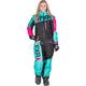 Women's Black/Mint/Electric Pink Squadron Monosuit