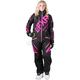 Women's Black/Electric Pink CX Insulated Monosuit