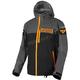 Black/Orange Carbon Trilaminate Jacket