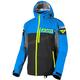 Black/Blue/Hi-Vis Carbon Trilaminate Jacket