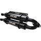 Black Stage 5 Dual Exhaust Slip-On Mufflers - TR-4165S-CB