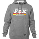 Heather Graphite Throwback Pullover Hoody