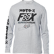 Light Heather Gray Charged Long Sleeve Shirt