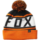 Black/Orange Throwback Beanie - 22255-016-OS