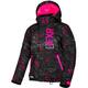 Youth Black/Fuchsia Icon Fresh Jacket