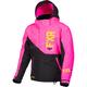 Youth Black/Elec Pink/Hi-Vis Fresh Jacket
