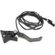 Adjustable Heated Brake Lever - APBLH105-GR