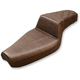 Brown Step-Up Seat w/Lattice-Stitched Passenger Seat - 879-03-173BR