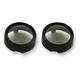 Pro-Beam Black Bullet Bezel Turn Signal Adapter w/Smoked Lens - PR-B-BEZ-BS