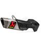 Titanium/Carbon Fiber Slip-On - S-D12SO9-HAPT