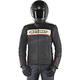 Black/Red Dyno v2 Leather Jacket