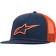 Navy/Orange Corporate Trucker Hat - 1025810037032