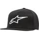 Black/White Ageless Flat Hat