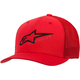 Red/Black Ageless Stretch Mesh Hat