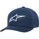 Blue/White Ageless Mock Mesh Hat