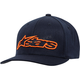 Navy/Orange Blaze Flexfit Hat