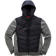 Black Boost Quilted Jacket