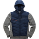 Navy Boost Quilted Jacket
