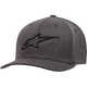 Gray/Black Ageless Curve Hat