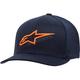 Navy/Orange Ageless Curve Hat