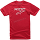 Red/White Ride 2.0 T-Shirt