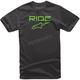 Black/Green Ride 2.0 T-Shirt