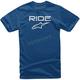Blue/White Ride 2.0 T-Shirt