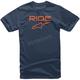 Youth Blue/Orange Ride 2.0 T-Shirt