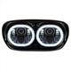 Blackout 5.75 in. Dual Halomaker LED Headlight - HW195026