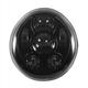 Blackout V-Rod LED Headlight - HW195209