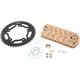 Gold HFRS Hyper Fast 520 Chain and Sprocket Kit - CKG6307