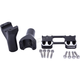 Reverse Cut 4 in. Assault Handlebar Risers for 1 in. Bars - TM-8602-4RC