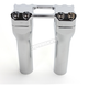 Chrome 6 in. Assault Handlebar Risers for 1 in. Bars - TM-8602-6PO