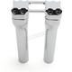 Chrome 8 in. Assault Handlebar Risers for 1 in. Bars - TM-8602-8PO