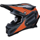 Black/Orange Summit Helmet