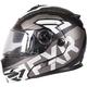 Black/Charcoal/White Fuel Modular EVO Helmet w/Electric Shield