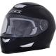 Gloss Black FX-99 Helmet