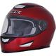 Wine Red FX-99 Helmet