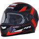 Black/Red FX-99 Helmet