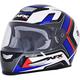 Red/White/Blue FX-99 Helmet