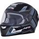 Matte Black/Gray FX-99 Helmet
