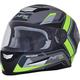Frost Gray/Green FX-99 Helmet