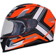 Matte Orange/White FX-99 Helmet