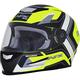 Matte Yellow/White FX-99 Helmet
