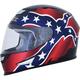 Gloss Black FX-99 Rebel Helmet