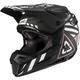 Black/White GPX 6.5 Carbon V19.1 Helmet