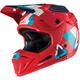 Red/Teal GPX 5.5 Composite V19.1 Helmet