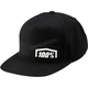 Black Nemisis Snapback Hat  - 20063-001-01