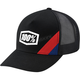Black Cornerstone Snapback Hat - 20070-001-01