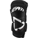 White/Black 3DF 5.0 Zip Knee Guard